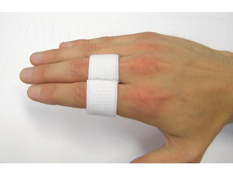 Elastic Finger Splint White