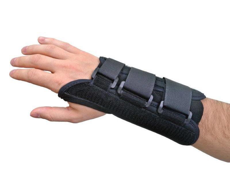 Handgelenkstütze Komfort schwarz