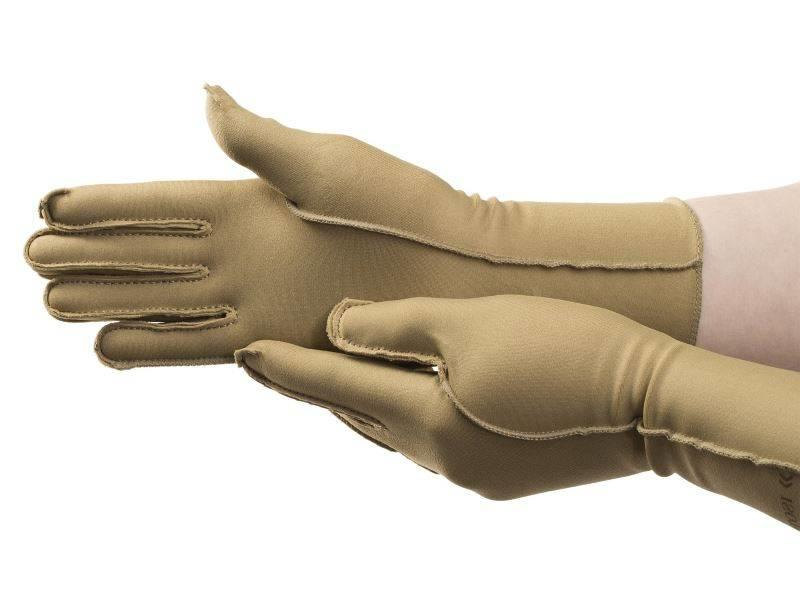 North Coast Medical Isotoner therapeutische Ödeme Handschuhe Finger schlossen