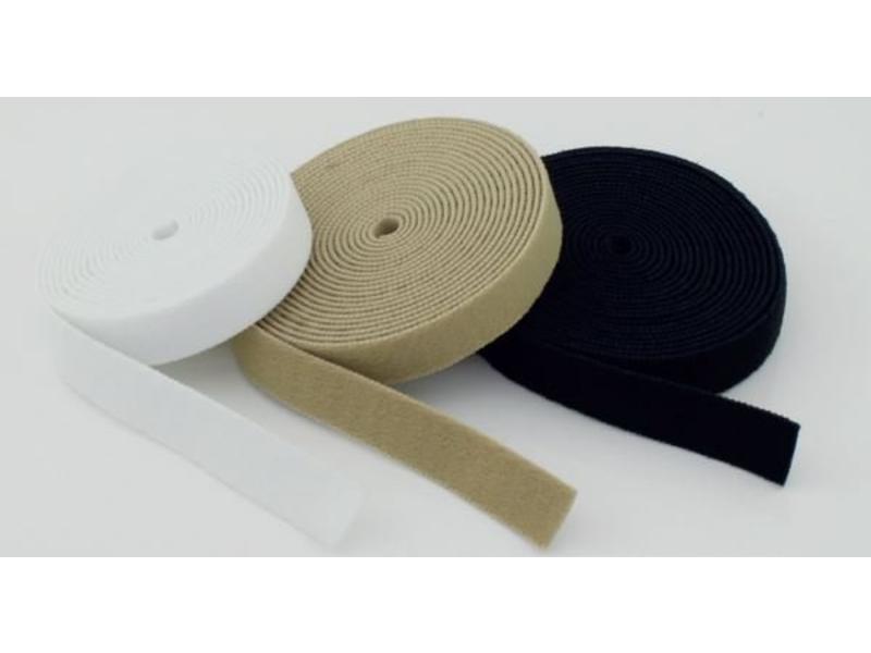 VELCRO® brand Elastischen Flauschband weiß