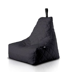 Extreme Lounging B-Bag Quilted Zitzak Zwart