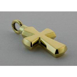 Gouden Herinneringssieraad - Kruis fantasie model