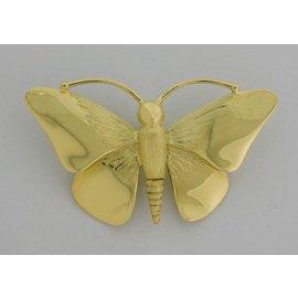 Gouden Herinneringssieraad - Vlinder