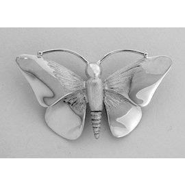 Zilveren Herinneringssieraad - Vlinder