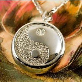 Zilveren Ashanger - Yin Yang