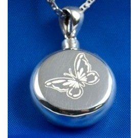 Zilveren assieraad - Rondom Vlinder