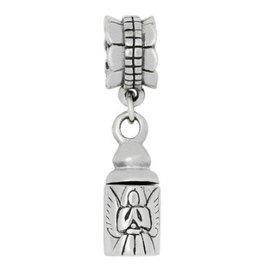 Zilveren Asbedel - Bescherm-engeltje