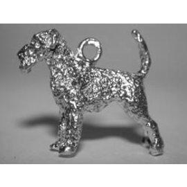 Airedale terrier - met staart - Ashanger
