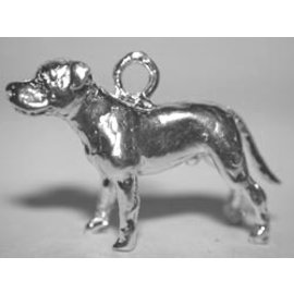 Amerikaanse bulldog - ongecoupeerd met staart - Ashanger
