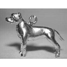 Amerikaanse pitt bull terrier - oren ongecoupeerd  - Ashanger