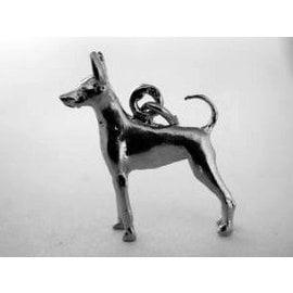 Amerikaanse toy terrier - met staart - Ashanger