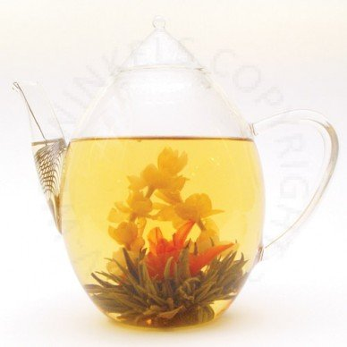 Jasili glazen theepot 850 ml