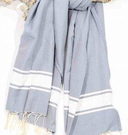 Call it Fouta! hamamdoek Robuste gray lavender