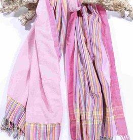 PURE Kenya Kikoy strandlaken sweet pink