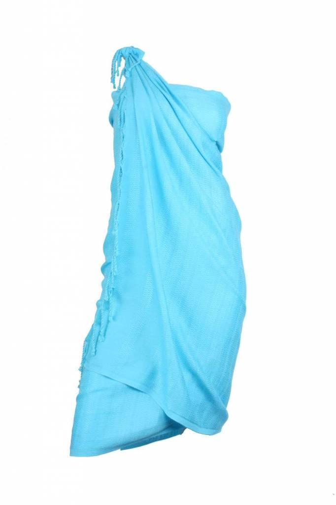 bamboe hamamdoek Aqua turquoise