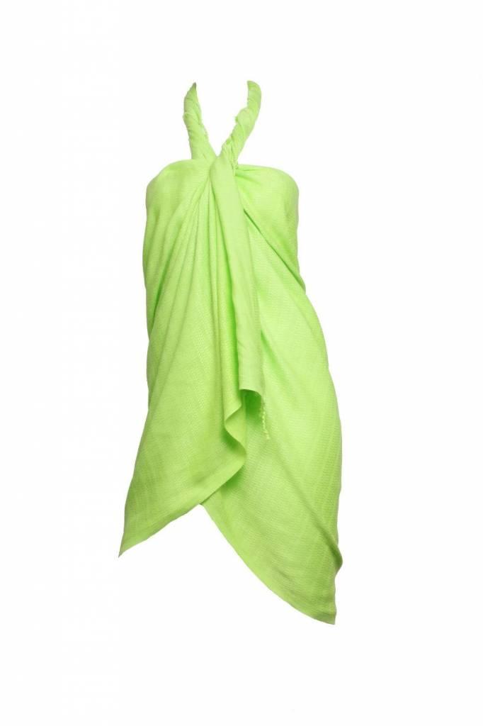 bamboe hamamdoek Aqua lime