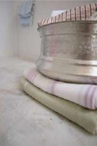 Ottomania Hammamschaal 15cm met ingeslagen motiefjes