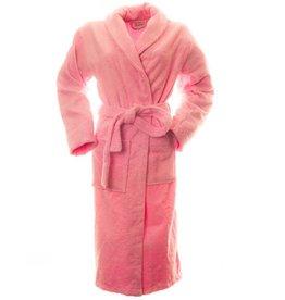 Sauna badjas bamboe roze L/XL