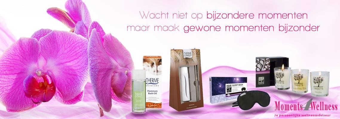 Moments4Wellness.nl maakt van gewone momenten bijzondere momenten