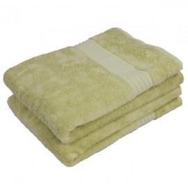 sauna handdoek bamboe groen 140x70