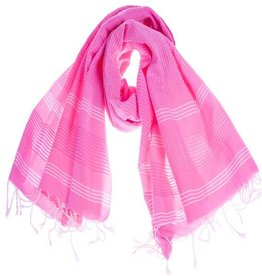 Hamamdoek Beachfun roze