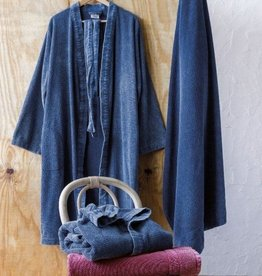 Lasa Home petrol kimono badjas - maat M