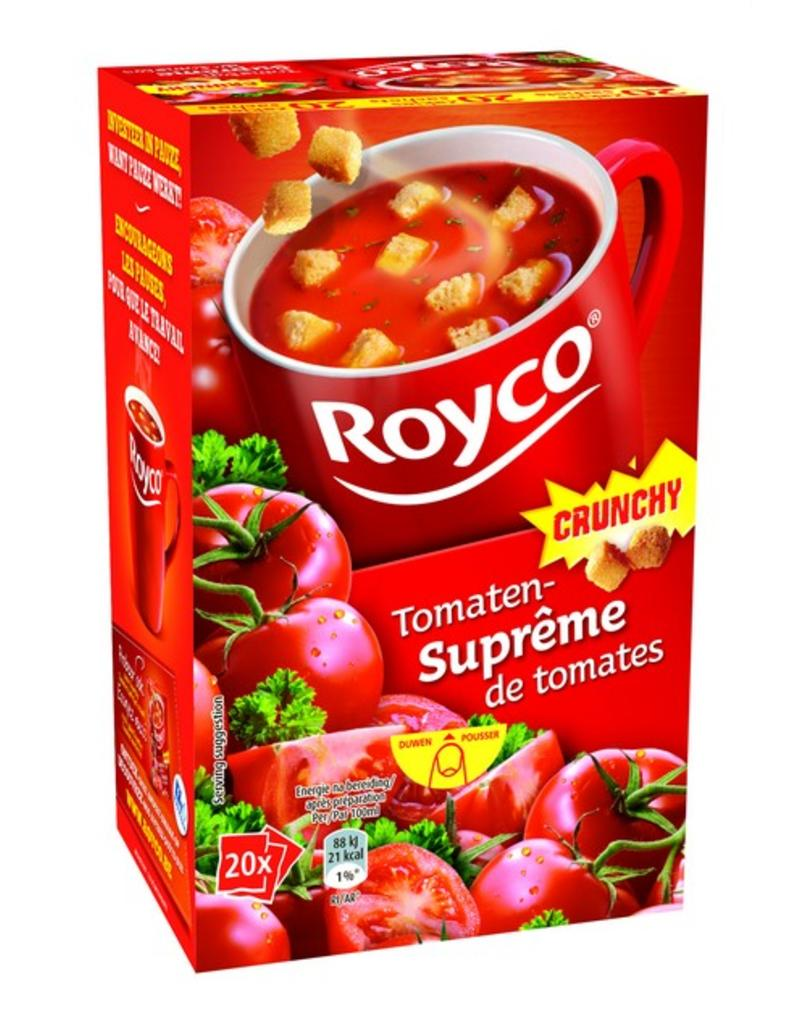 Royco Minute Soup Tomatensuprême Crunchy 20st.