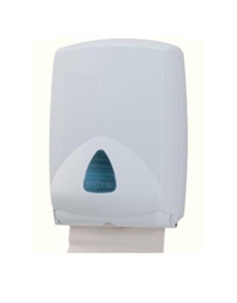 Dispenser papieren handdoeken handdoekjes