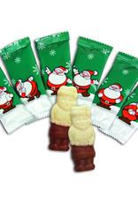 Kerstmannetjes kwaliteitschocolade 120st.