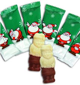 Kerstmannetjes kwaliteitschocolade