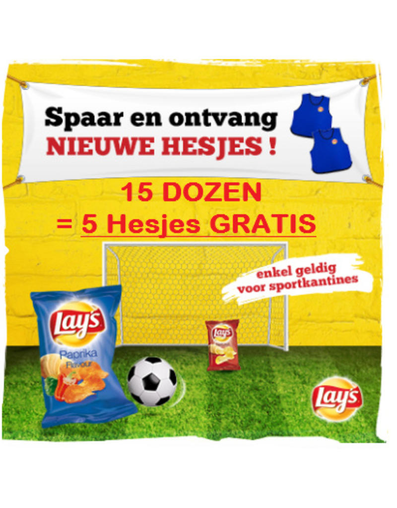Lay's Naturel Zout 40g x 20st.