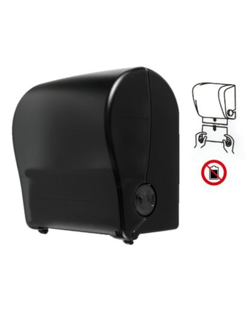 Autocut Handdoekrol Dispenser Zwart