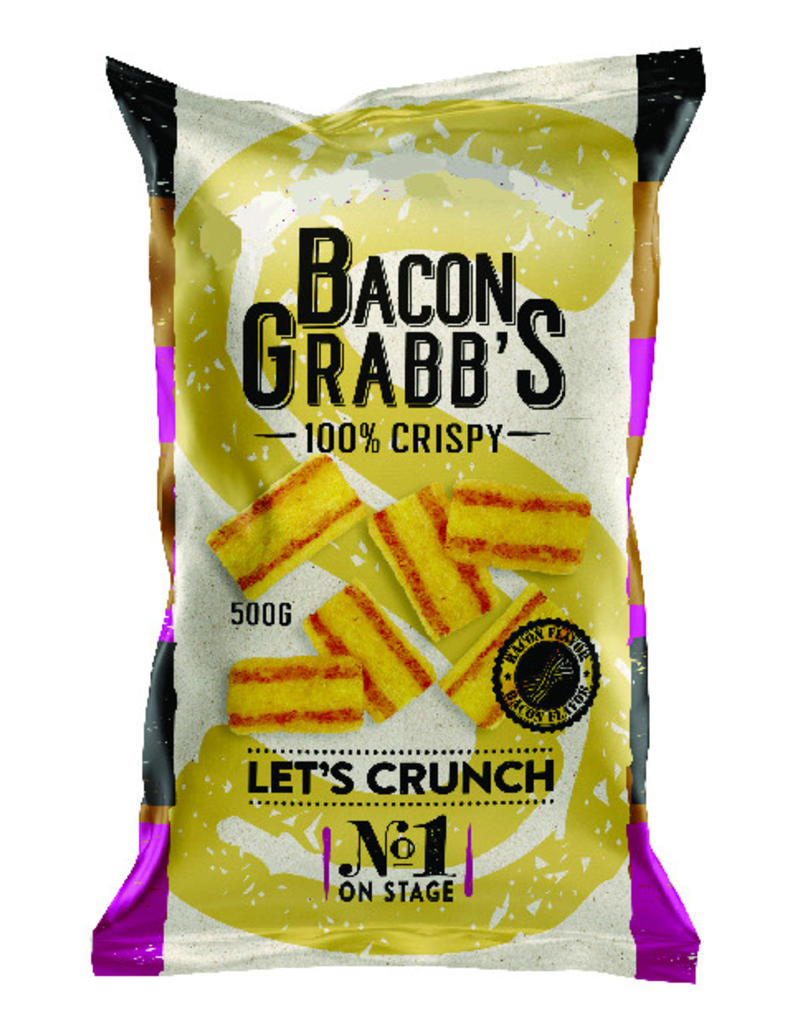 Bacon grabb's chips aperitief 6 x 500g