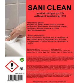 Saniclean sanitairreiniger 5L