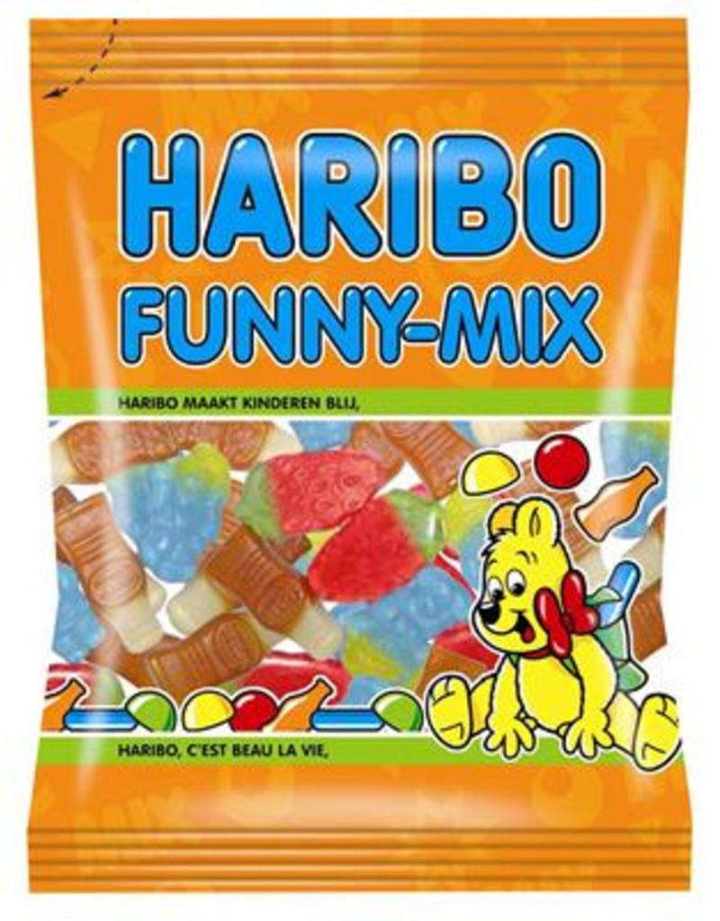 Haribo funny-mix 75g x 30st.