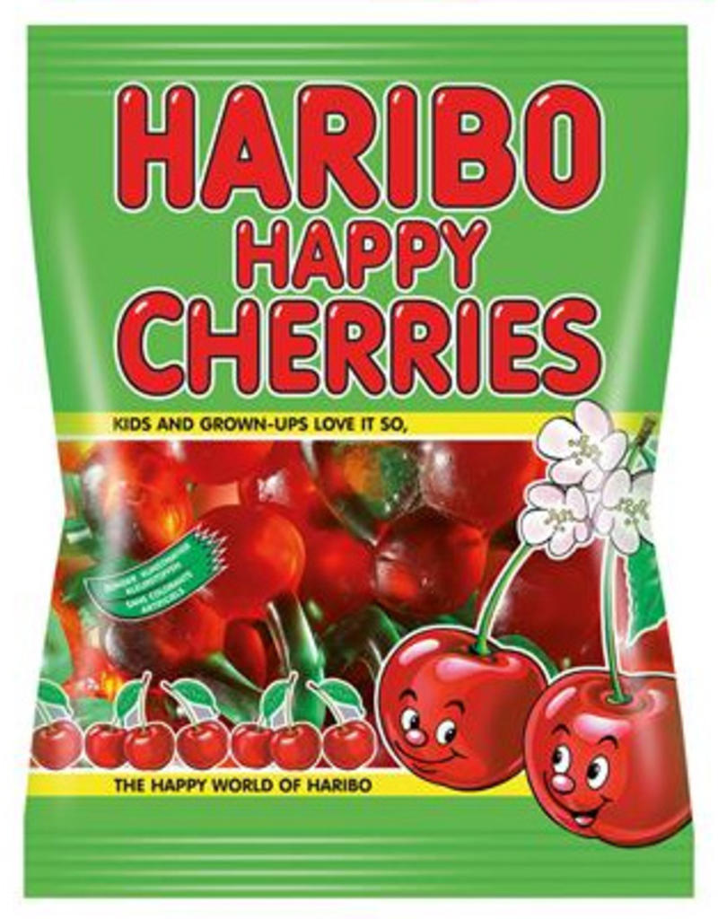 Haribo happy cherries 75g x 30st.