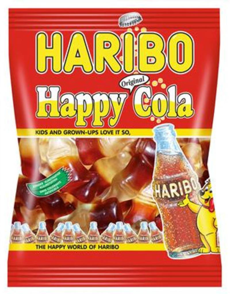 Haribo happy cola 75g x 30st.