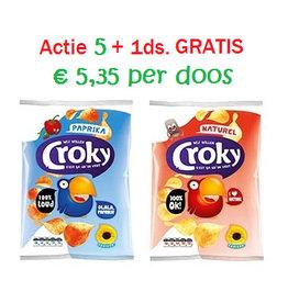 Actie: Croky 5 + 1 GRATIS