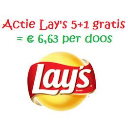 Lay's ACTIE 5 + 1dz. GRATIS