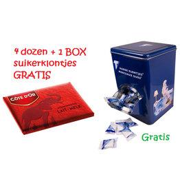 Actie 4 Mignonnettes + 1 Suiker BOX Gratis