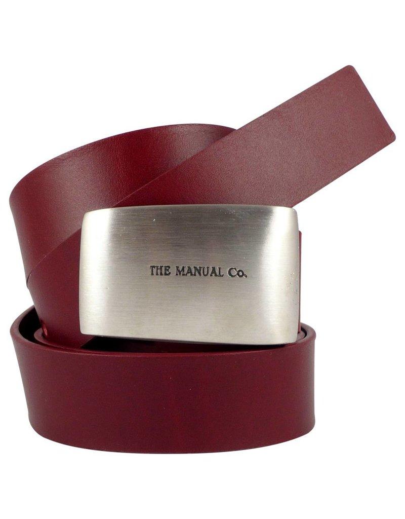 The Manual Co Roter Damengürtel