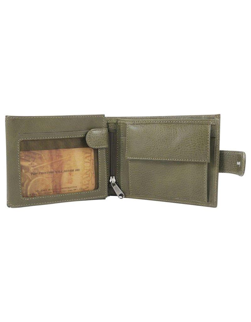The Manual Co Geldbörse Olivgrün oder Braun