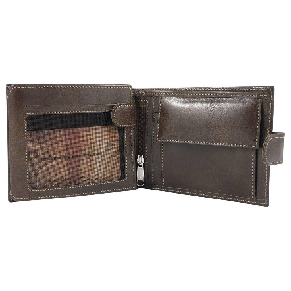 The Manual Co Geldbörse in Schwarz oder Braun