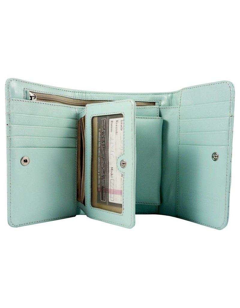 The Manual Co Damen Geldbörse in Mint