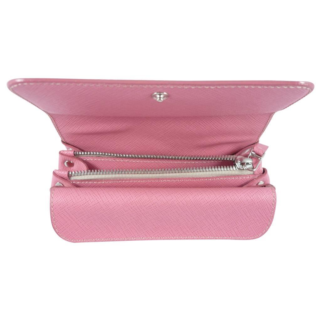 The Manual Co Damen Geldbörse Schwarz oder Pink