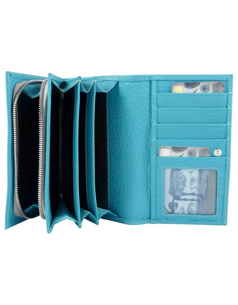The Manual Co Damen Geldbörse in verschiedenen Farben