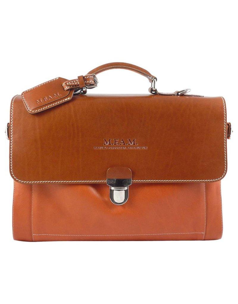 The Manual Co Aktentasche in Oliv oder Orange