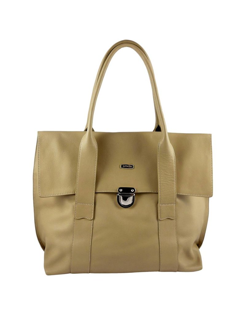 The Manual Co Handtasche in Beige