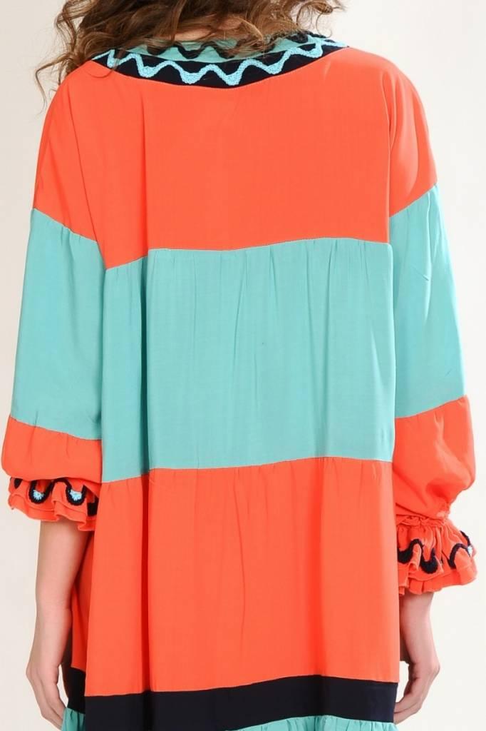 iskon mode Bequemes Kleid