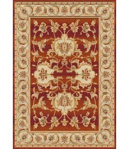 Qarpet Terra Diseño 102 Color 10 Rojo